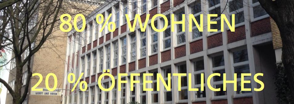 Wohlville Hamburg Nutzungsverteilung