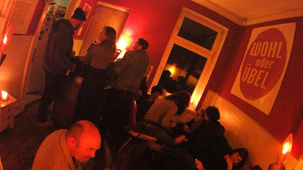 Nachtgespräche im Salon
