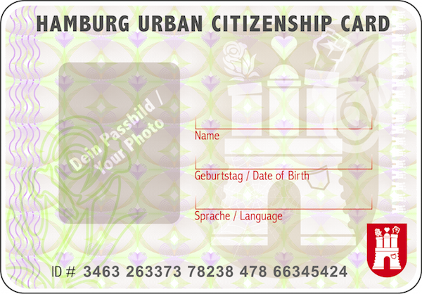Hamburg Urban Citizenship Card