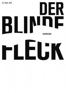 "Salon August 2018 #1 – Fanzine Release Party ""Der blinde Fleck"" @ Art Store St. Pauli"