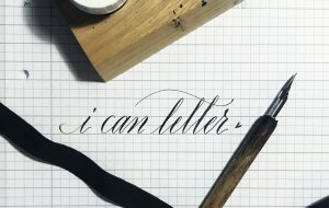 Salon Januar 2019 #2 - Vernissage: Kalligraphie von SUMBO PINHEIRO @ Art Store St. Pauli