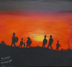 HOPE OF ART - eine Ausstellung mit Werken von Refugees auf Lesbos @ Art Store St. Pauli