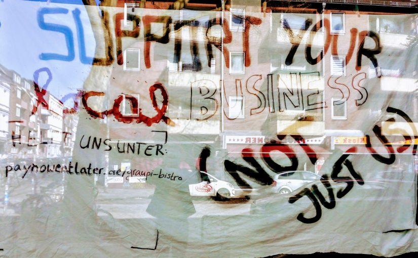 Unterstützung für Läden in St. Pauli, Schanze und drumrum